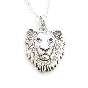 Lion King of the Jungle Chain Necklace